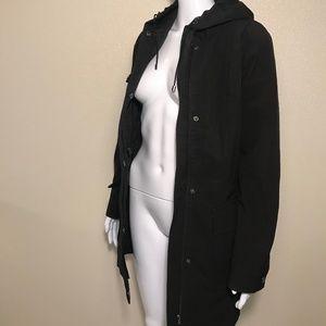 Kristen Blake Hooded Trench Coat